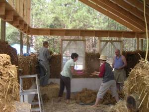 Natural building promotes community. It is about building equality, not equity.
